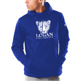Under Armour Royal Armour Fleece Hoodie-Primary with Mascot