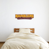 1 ft x 3 ft Fan WallSkinz-Ramblers Loyola University