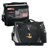Slope Black/Grey Compu Messenger Bag-L Mark
