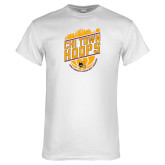 White T Shirt-Chi Town Hoops