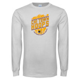 White Long Sleeve T Shirt-Chi Town Hoops