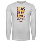 White Long Sleeve T Shirt-Worship Work Win