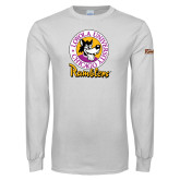 White Long Sleeve T Shirt-Ramblers Vintage