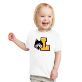 Toddler White T Shirt-L Mark