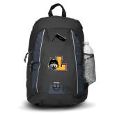 Impulse Black Backpack-L Mark