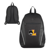 Atlas Black Computer Backpack-L Mark