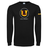 Black Long Sleeve T Shirt-Retro Ramblers Collections