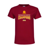 Youth Maroon T Shirt-2018 Regular Season Mens Basketball