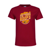 Youth Maroon T Shirt-Chi Town Hoops