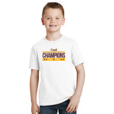 Youth White T Shirt-Underdog Champs