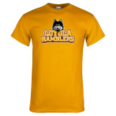 Gold T Shirt-Loyola Ramblers Stacked