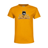 Youth Gold T Shirt-Athletics