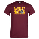 Maroon T Shirt-Rambler Nation
