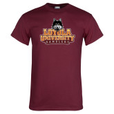 Maroon T Shirt-Primary Mark - Full Color Gradient