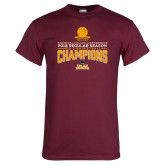 Maroon T Shirt-2018 Regular Season Mens Basketball