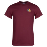 Maroon T Shirt-L Mark