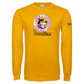 Gold Long Sleeve T Shirt-Ramblers Vintage