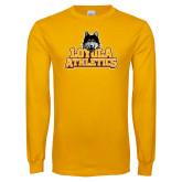 Gold Long Sleeve T Shirt-Athletics