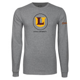 Grey Long Sleeve T Shirt-Retro Ramblers Collections