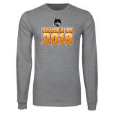 Grey Long Sleeve T Shirt-Ramble On