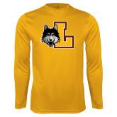 Performance Gold Longsleeve Shirt-L Mark