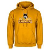 Gold Fleece Hoodie-Loyola Ramblers Stacked