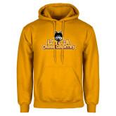 Gold Fleece Hoodie-Cross Country