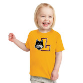 Toddler Gold T Shirt-L Mark