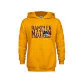 Youth Gold Fleece Hoodie-Rambler Nation