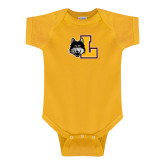 Gold Infant Onesie-L Mark