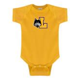 Gold Infant Onesie-L Mark
