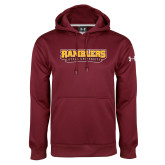 Under Armour Maroon Performance Sweats Team Hoodie-Ramblers Loyola University