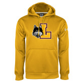 Under Armour Gold Performance Sweats Team Hoodie-L Mark