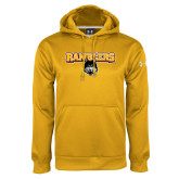 Under Armour Gold Performance Sweats Team Hoodie-Ramblers w/ Mascot