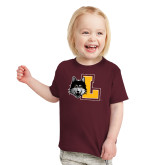 Toddler Maroon T Shirt-L Mark