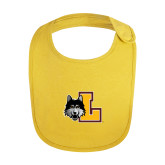 Yellow Baby Bib-L Mark