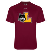 Under Armour Maroon Tech Tee-L Mark