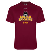 Under Armour Maroon Tech Tee-Dad
