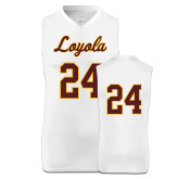 Replica White Adult Basketball Jersey-24