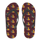 Full Color Flip Flops-L Mark
