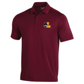 Under Armour Maroon Performance Polo-L Mark