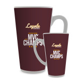 Full Color Latte Mug 17oz-2018 MVC Champs Mens Basketball