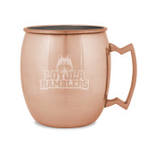 Copper Mug 16oz-Loyola Ramblers Stacked Engraved