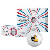 Callaway Supersoft Golf Balls 12/pkg-L Mark