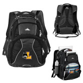 High Sierra Swerve Black Compu Backpack-L Mark