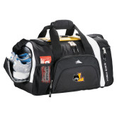High Sierra Black 22 Inch Garrett Sport Duffel-L Mark