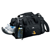 High Sierra Black Switch Blade Duffel-L Mark