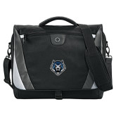 Slope Black/Grey Compu Messenger Bag-Tiger Head