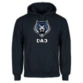 Navy Fleece Hoodie-Dad