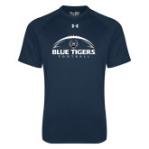 Under Armour Navy Tech Tee-Blue Tigers Football Half Ball